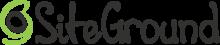 Siteground logo black transparent 400x81